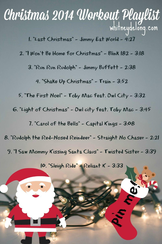 Christmas 2014 Workout Playlist Workout playlist