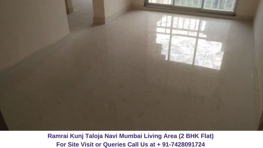 Sales 7428091724 Ramrai Kunj Offers 2 Bhk Unique Well Crafted Apartments With All The Modern Amenities The Carp Navi Mumbai Living Area Modern