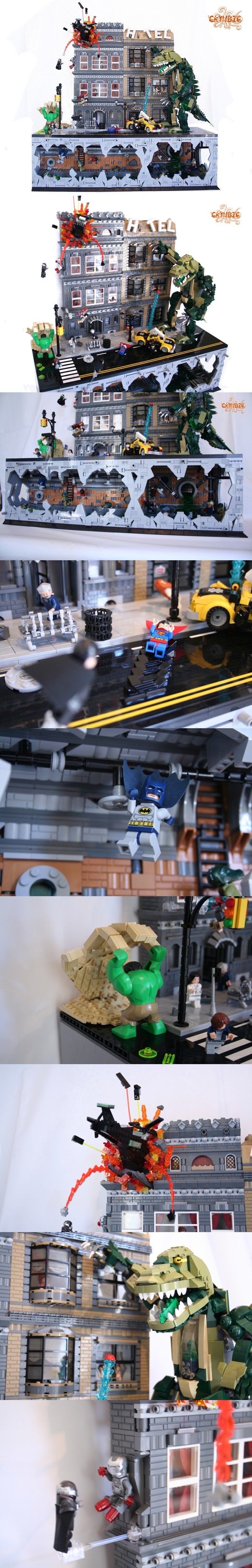 Super Heroes 3lug Project #LEGO #superheroes #kockamania