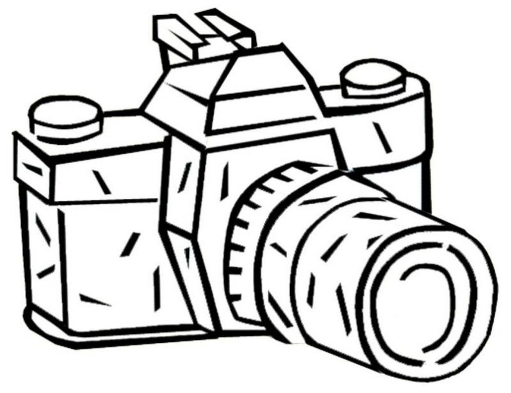 Camera Coloring Pages Coloring Pictures Coloring Pages
