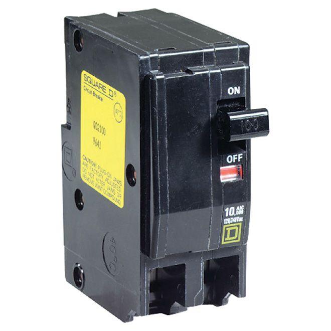 Homeline 100 Amp Double Pole Circuit Breaker Hom2100cp Non