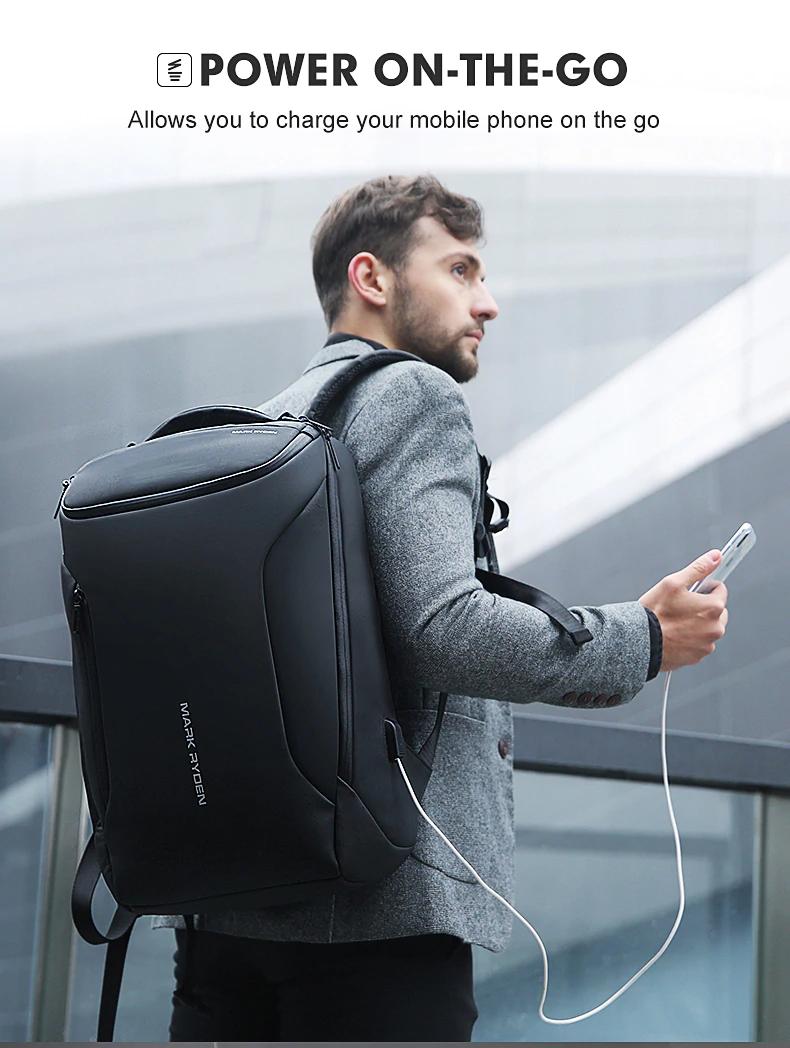 Bolsos de viaje de moda para hombre 2019 mochila multifunción impermeable
