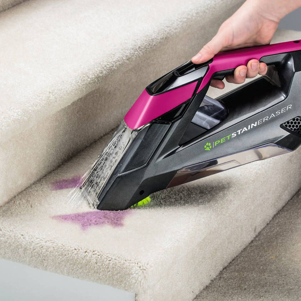 Bissell pet stain eraser deluxe cordless carpet cleaner