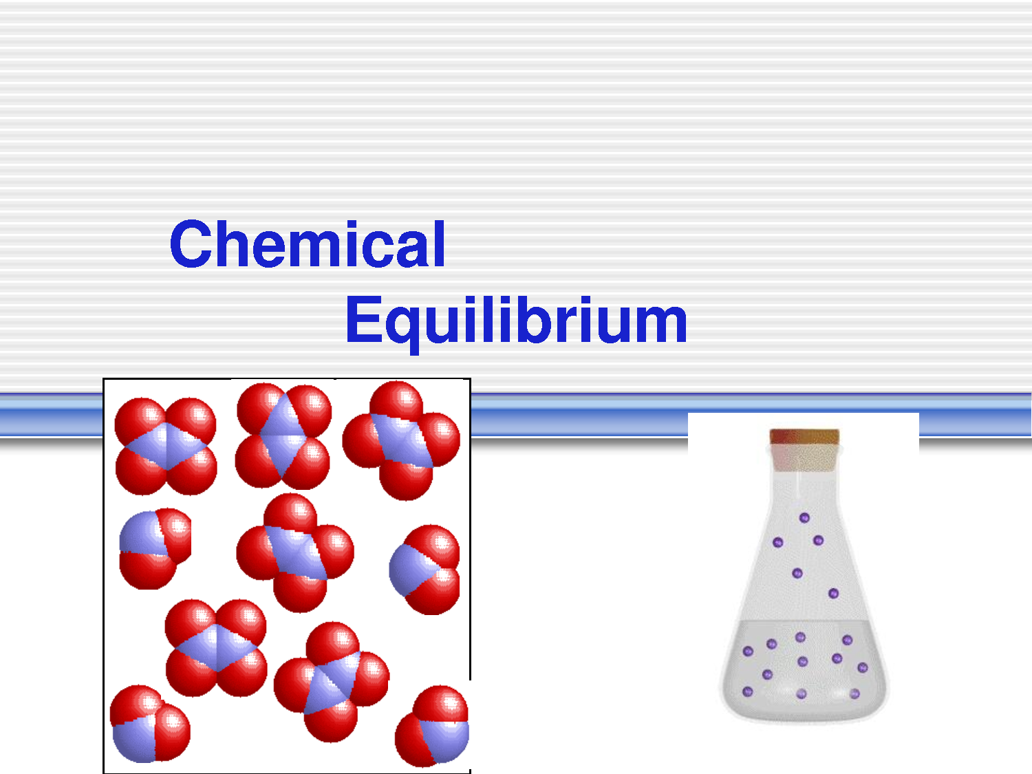 Chemical Equilibrium Is A Condition Which Means That The