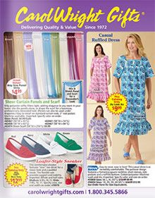 Carol Wright Gifts Gift catalog, Free mail order