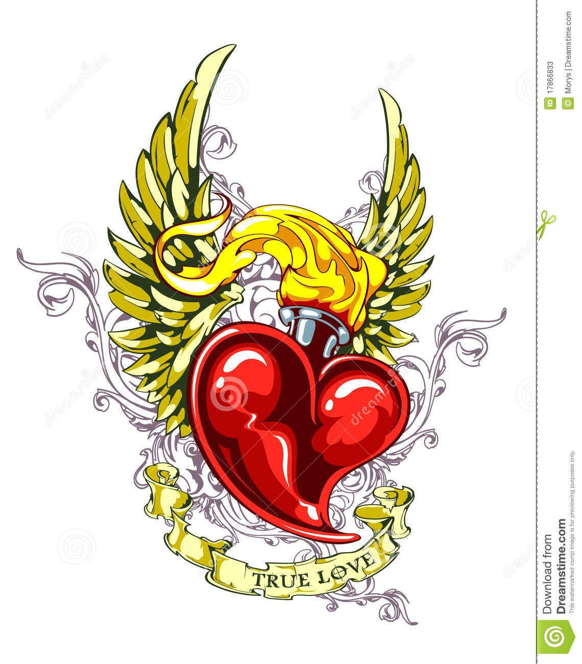 vintage heart tattoo designs - Google Search | ink | Heart ...