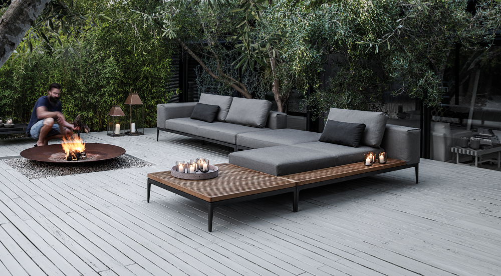 Grid Collection Modern Luxury Outdoor Furniture Gloster In 2020 Luxury Outdoor Furniture Gloster Outdoor Furniture Modern Outdoor Furniture