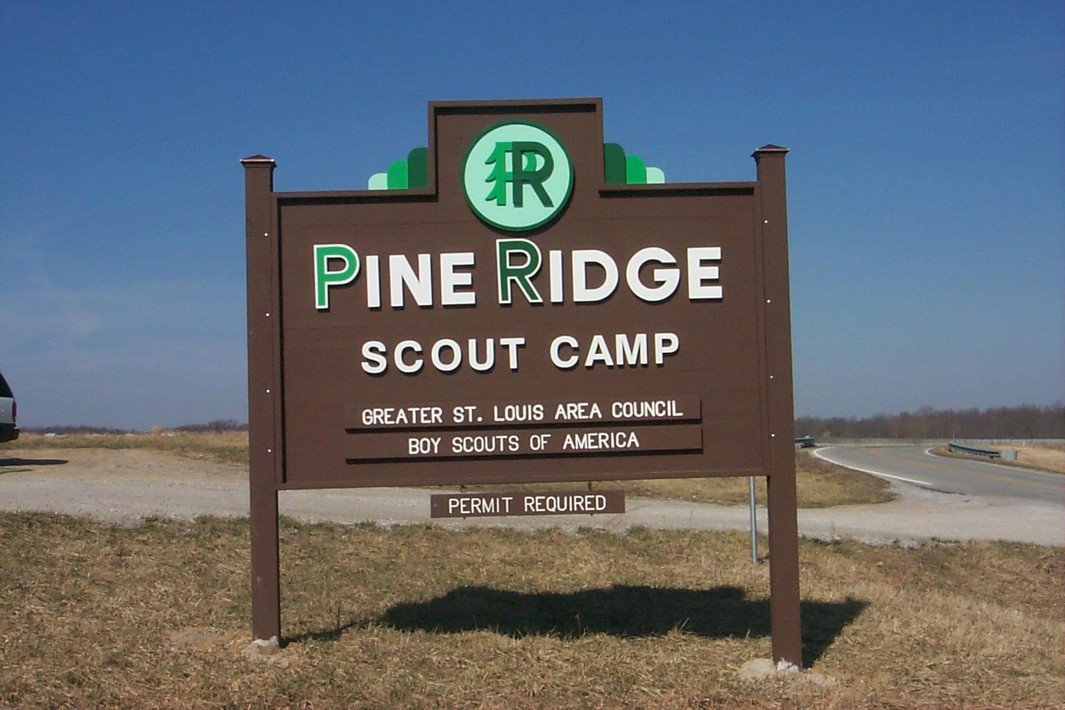 Pine Ridge Scout Camp, Greater St  Louis Area Council, Boy