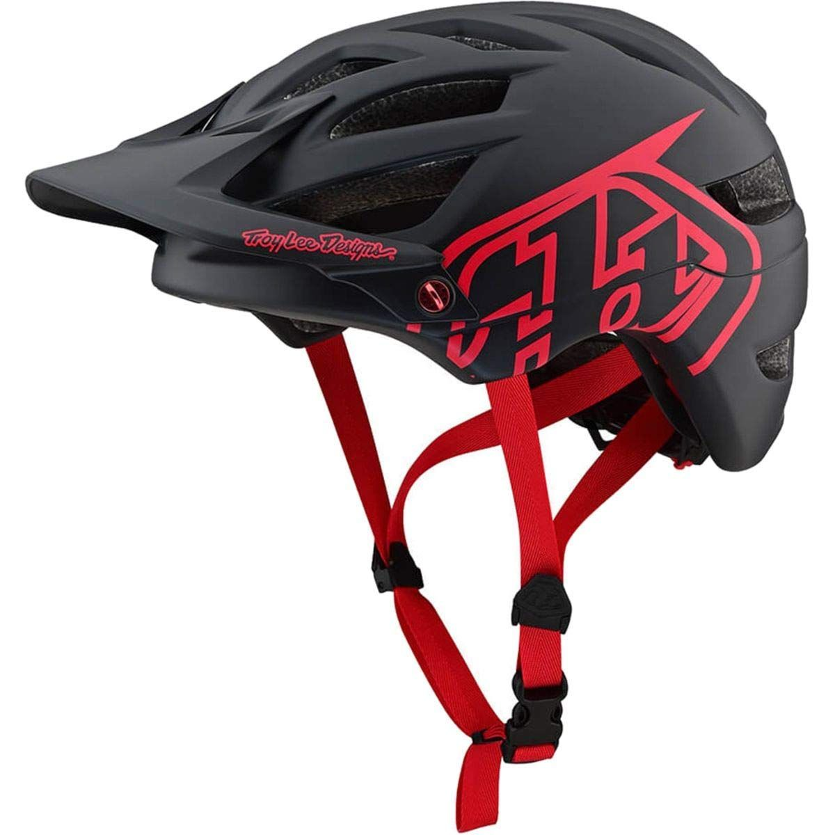 2019 Troy Lee Designs A1 Drone Helmet Black Red Xl 2xl See The