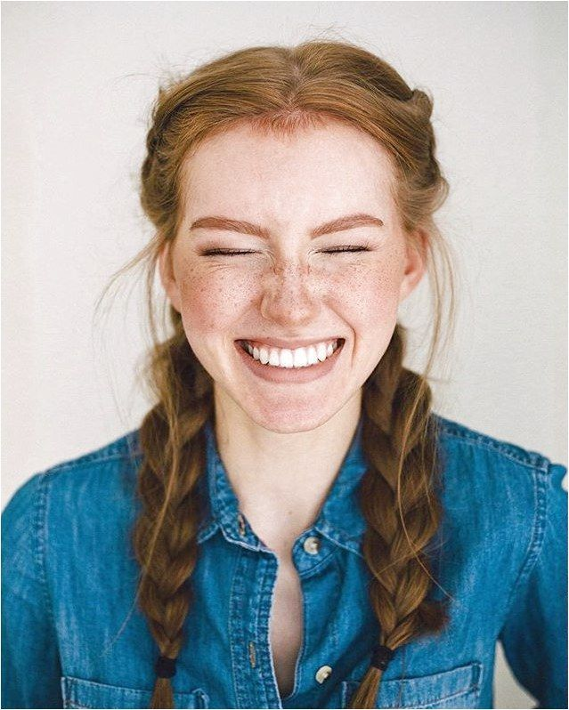 #braided #braids #denim #eyebrows #Freckles #ginger #Redhead #selfie #shirt #thick Freckles, braids, redhead, ginger, thick eyebrows, denim shirt, selfie, braided hair, fake freckles, makeup, makeup freckles, girl,  freckles,  makeup, strawberry blonde #BraidedHairstyle click now for more info..