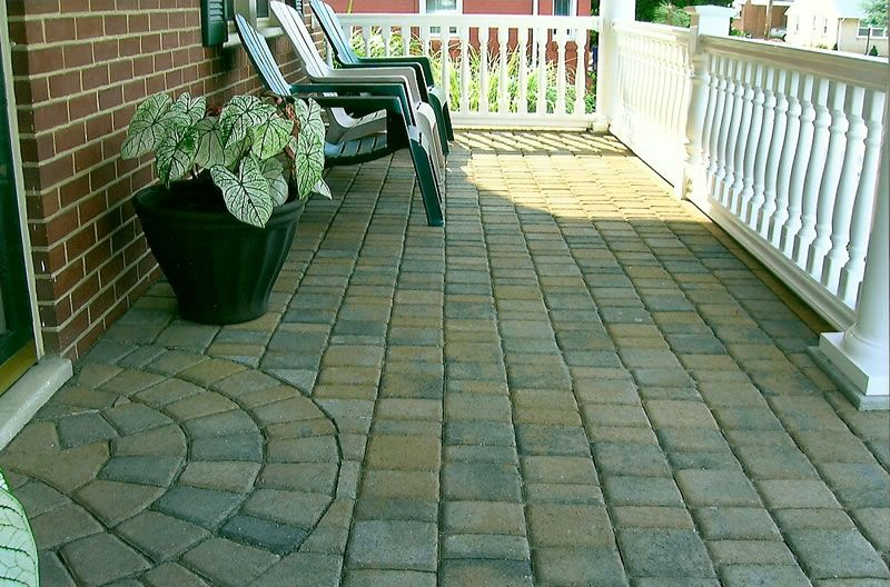 Want This On The Front Of My House Patio Pavers Design Front Porch Design Patio Design