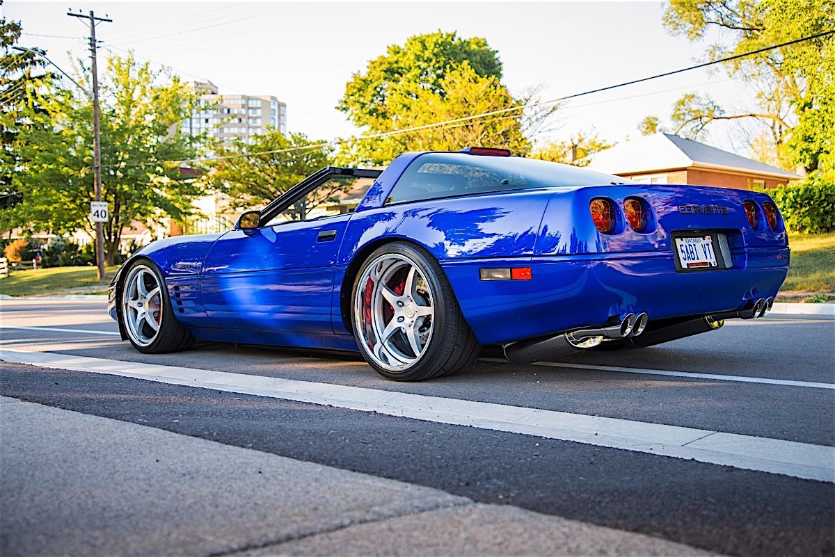 Mad Modded 1994 Zr 1 New Benchmark Of Corvette Cool Corvette Chevrolet Corvette C4 Corvette Wheels