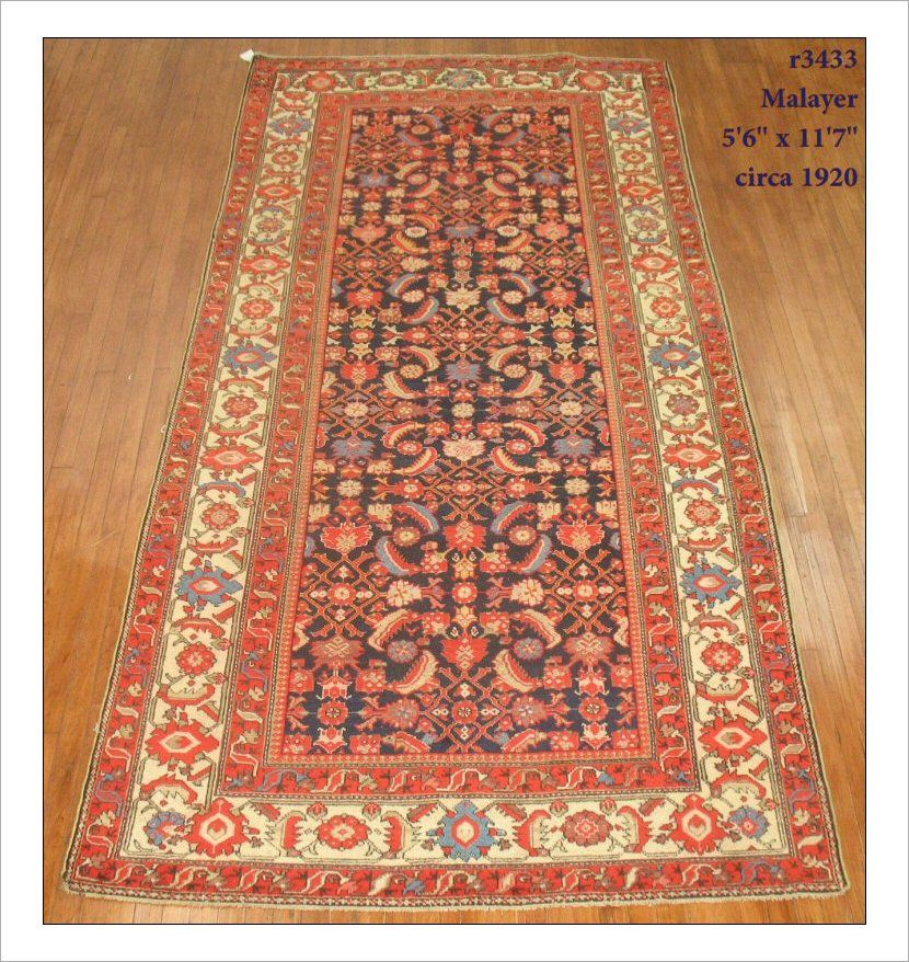 Malayer Rug Number R3433 Size 5 6 X 11 7