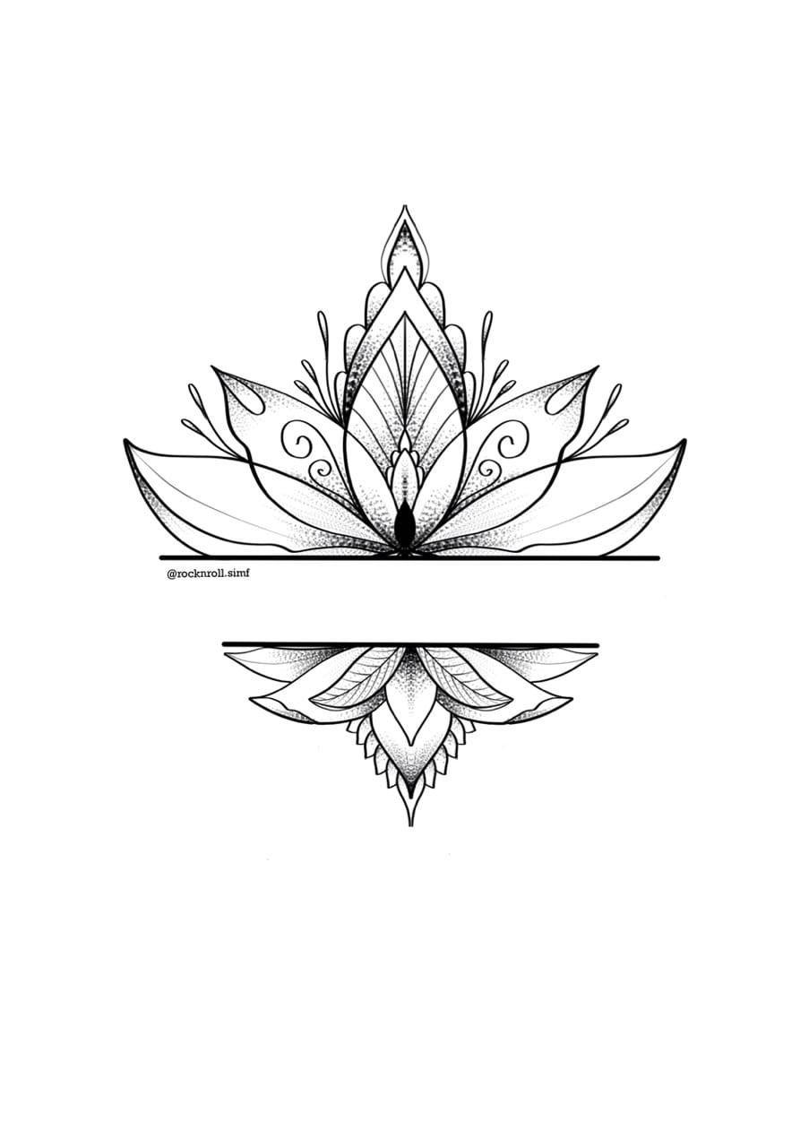 Tattoo Sketch Geometric Mandala Tattoo Tribal Flower Tattoos Mandala Tattoo Design