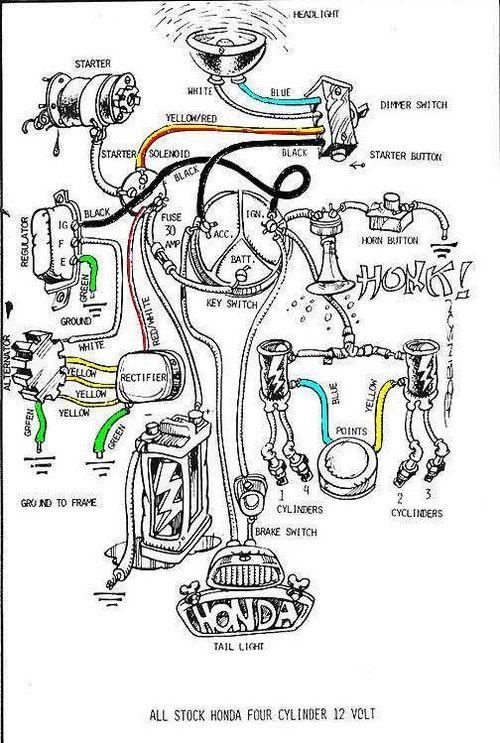 cafe racer on tumblr | motorcycle wiring, honda cb750, electric motorcycle  pinterest