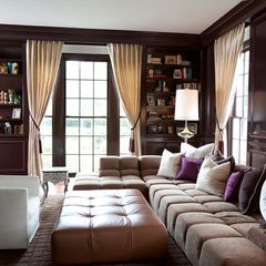 traditional home office by Laura U, Inc.