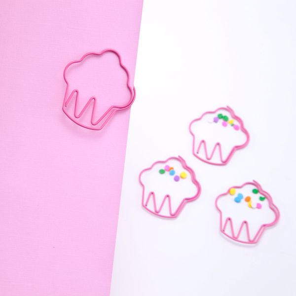 Cupcake paperclips. http://www.seejanework.com
