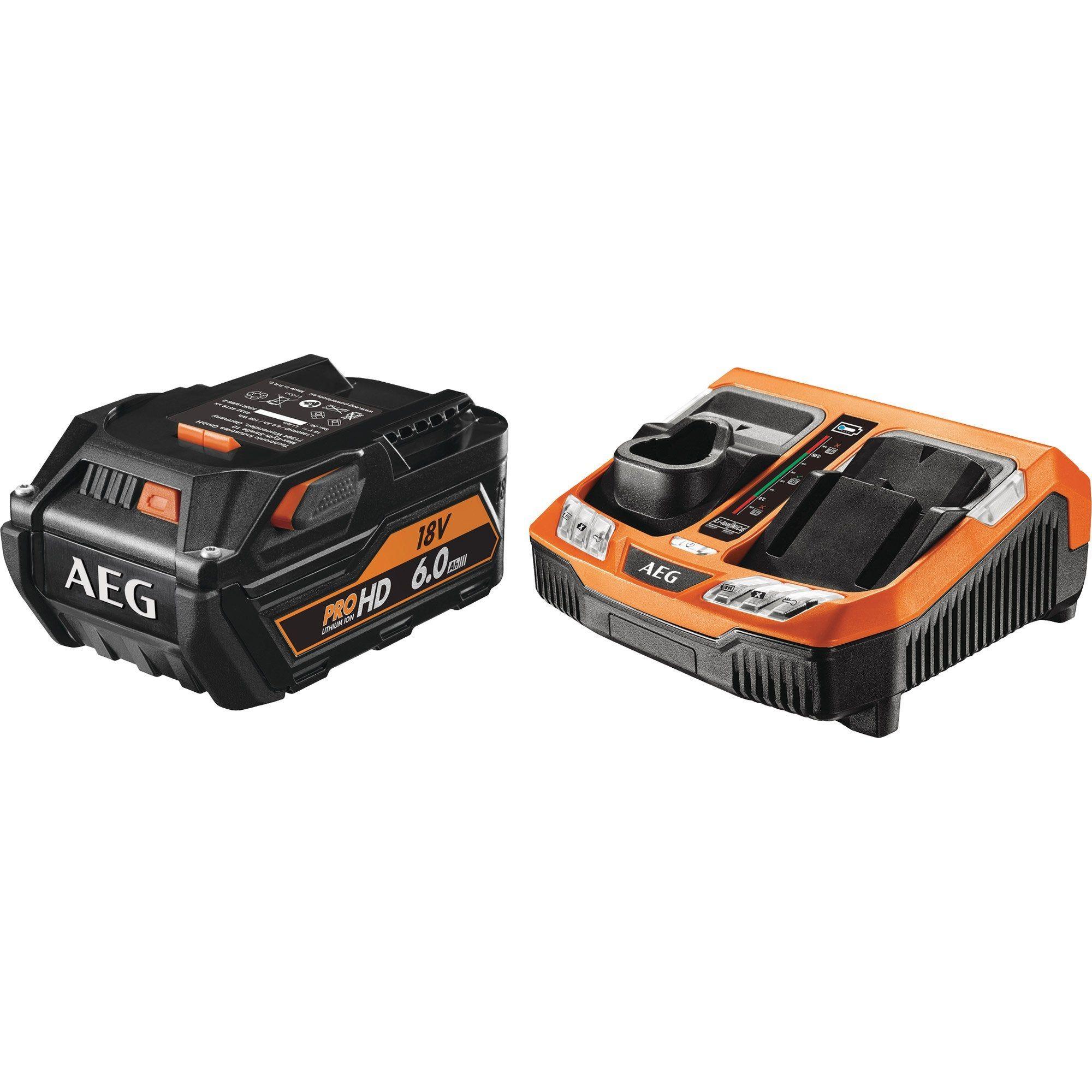 Chargeur Et Batterie Aeg Setl1860rhdblk En 2019 Products