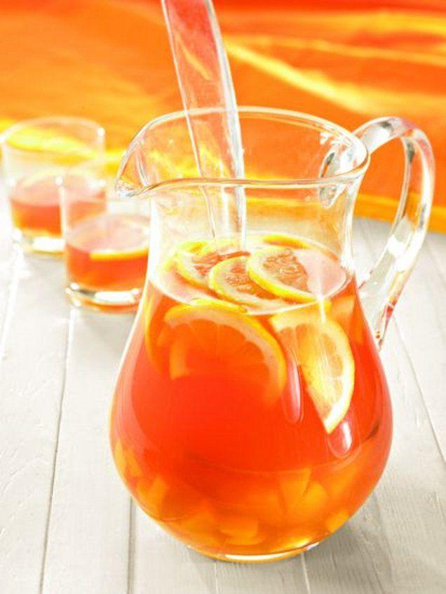 Fruchtige Sangria | Rezept | Deko weihnachten | Pinterest | Sangria ...