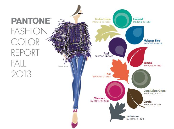 Tendencias de color Otoño Invierno 2013 - 2014 Mujer | Colors ...