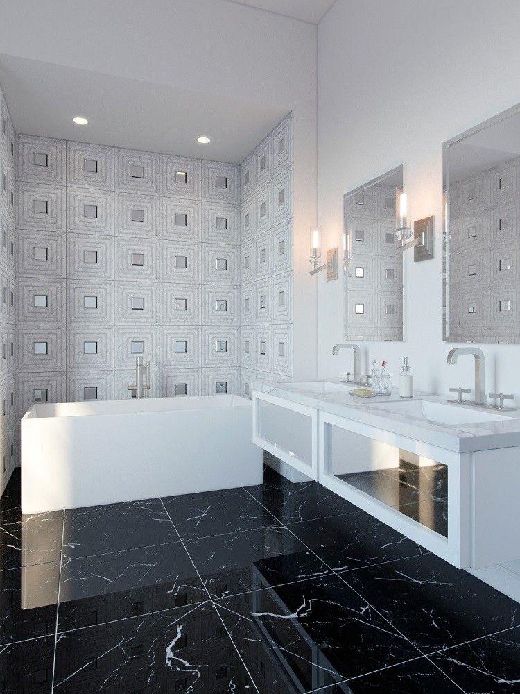 Tonya Comer Boulevard Carrara 16 x 16 Marble Tile with ...