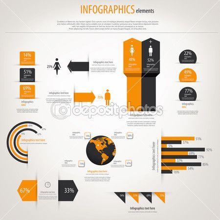 Retro infographics set world map and information graphics vect retro infographics set world map and information graphics vect gumiabroncs Gallery