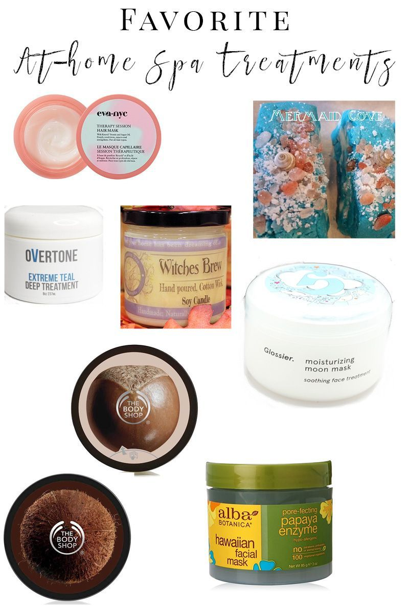 Favorite At-Home Spa Treatments - Pamper yourself at home with these ...