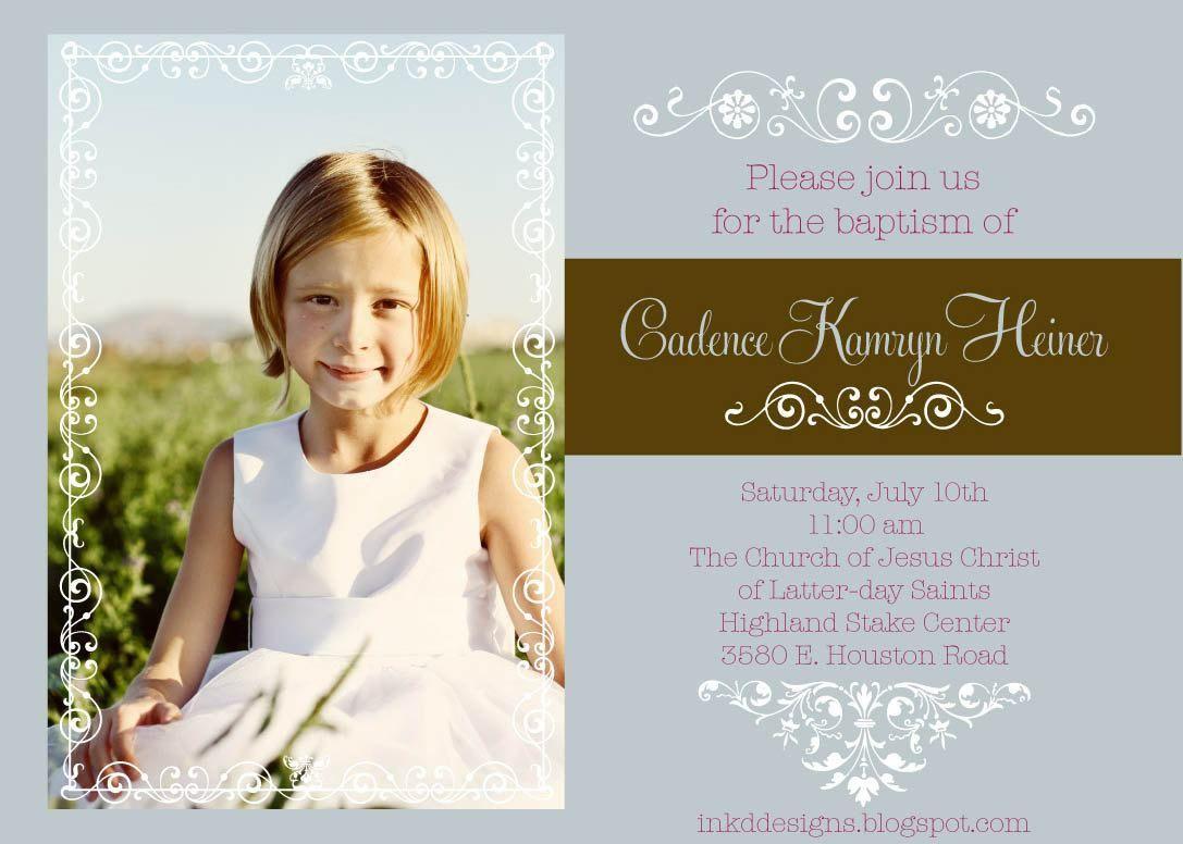 wording-for-baptism-reception-invitations   wedding invitations ...