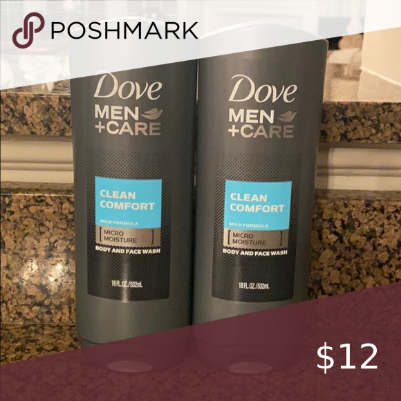 Dove Men Care Body And Face Wash Bundle Nwt Face Wash Dove Men Care Men Care