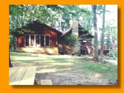 Brown County Indiana Log Cabin With Hot Tub Maple Hills