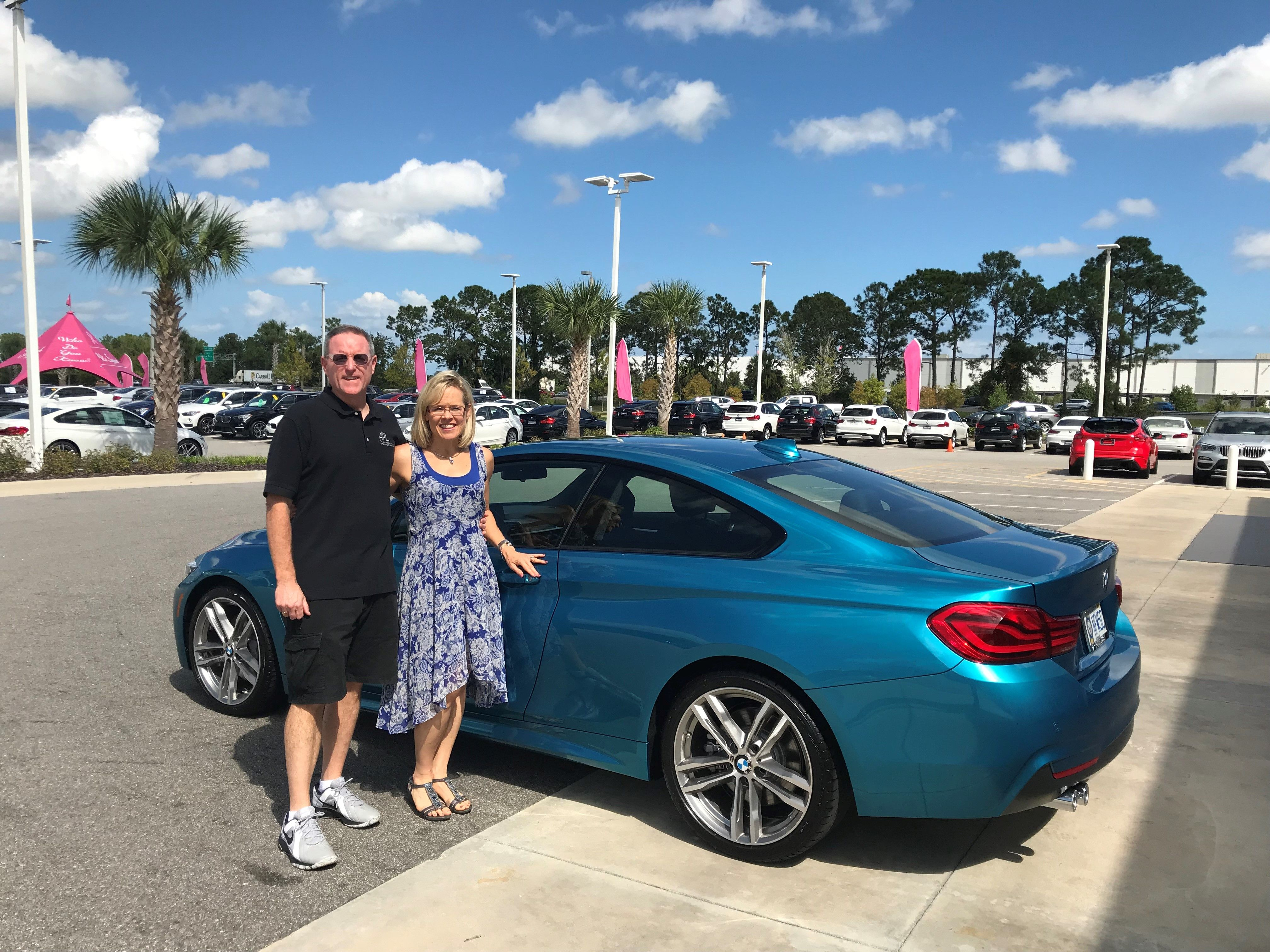 Randy Terri And Their 2019 Snapper Rocks Blue Bmw 430i Coupe We Welcome Your Family To Ours Fields Bmw Congratulates Th Bmw Affordable Luxury Coupe