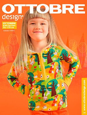 I love that shirt! The fabric is awesome. (OTTOBRE design Autumn issue 4 / 2012 ENGLISH by Ottobredesign)