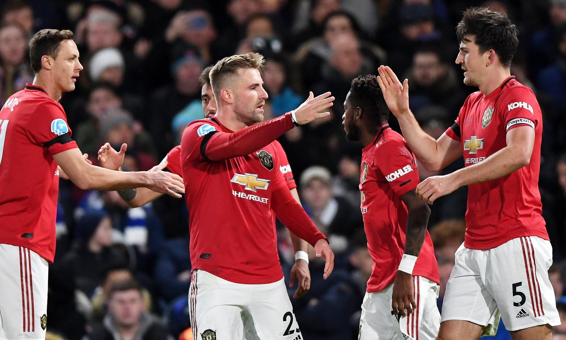 Manchester United S Harry Maguire Had Expected He Might Rating Via Corner In Opposition To Chelsea In 2020 Premier League Goals Manchester United Manchester
