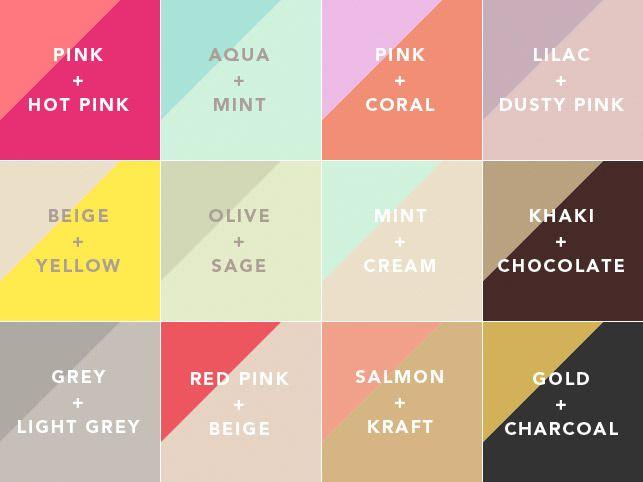 Combinations. … | Grey color scheme, Color design, Color palette