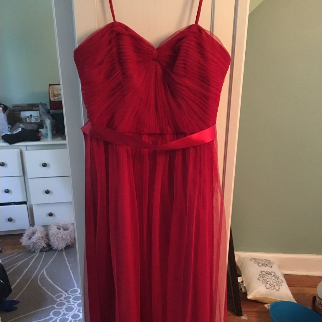 Red bridesmaid dress products