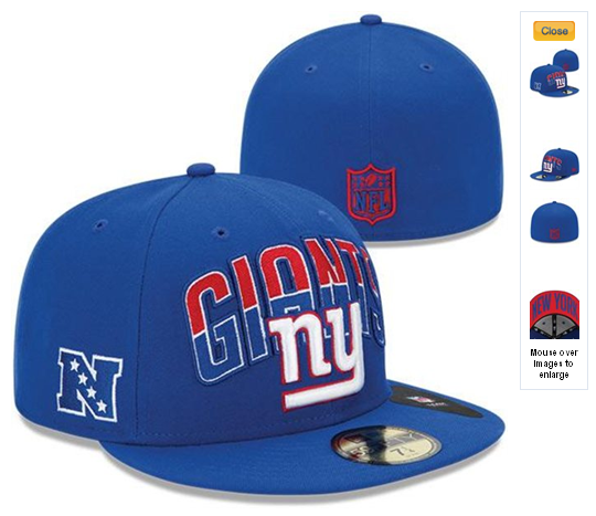 Cheap Wholesale NFL Draft 59FIFTY Fitted New York Giants