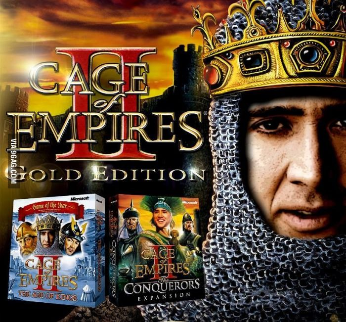 New Age of Empires II expansion: Cage of Empires
