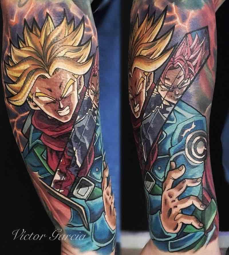 The Very Best Dragon Ball Z Tattoos Z Tattoo Dragon Ball Tattoo Dragon Ball Artwork