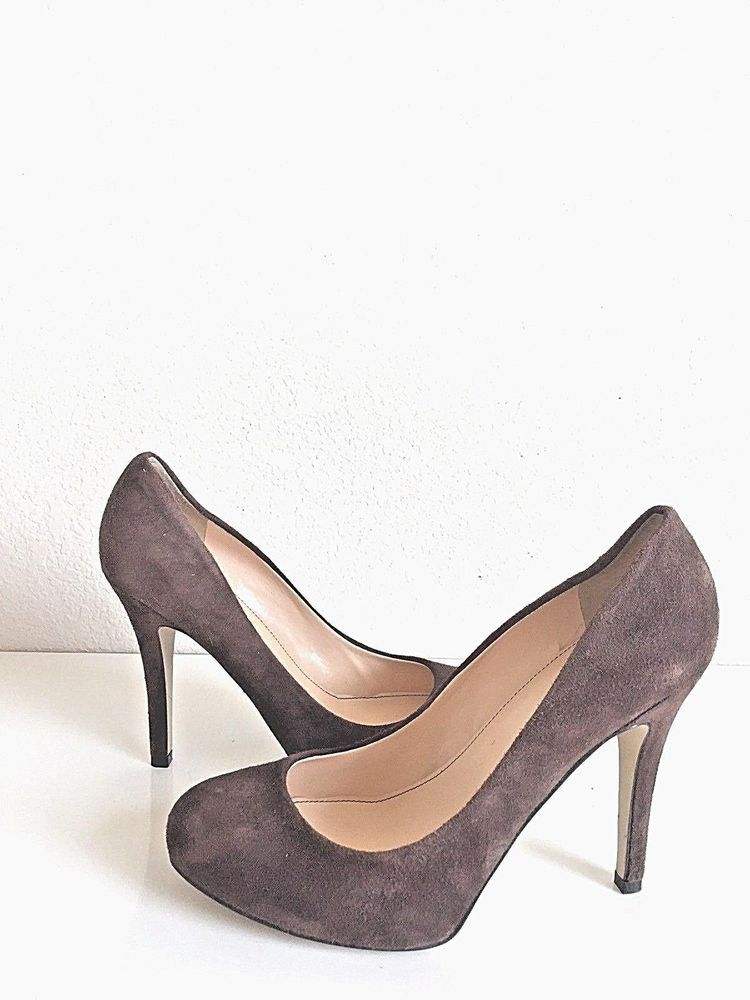 f49fef66ed299 Marc Jacobs Suede Round Toe 4-1/2