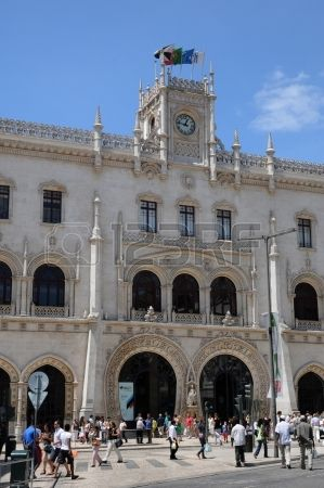 Portugal, Rossio station in Lisbon photo