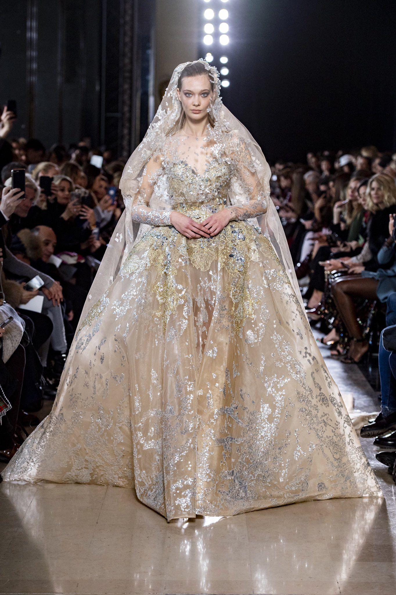 Elie Saab Haute Couture Elie Saab Bridal Trendy Wedding Dresses Gowns