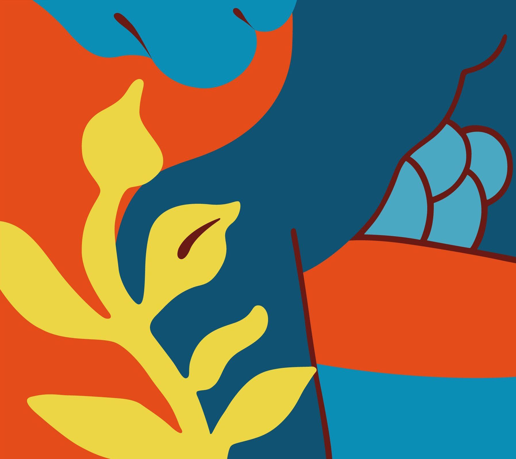 Lucie Bennett Orange Blossom On Eyestorm Symbolic