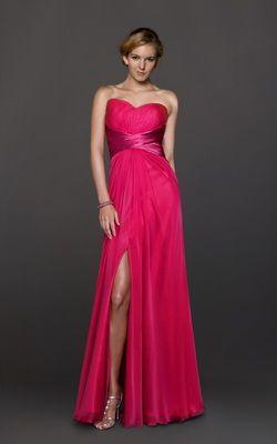 Imagenes de vestidos de fiesta color rosa