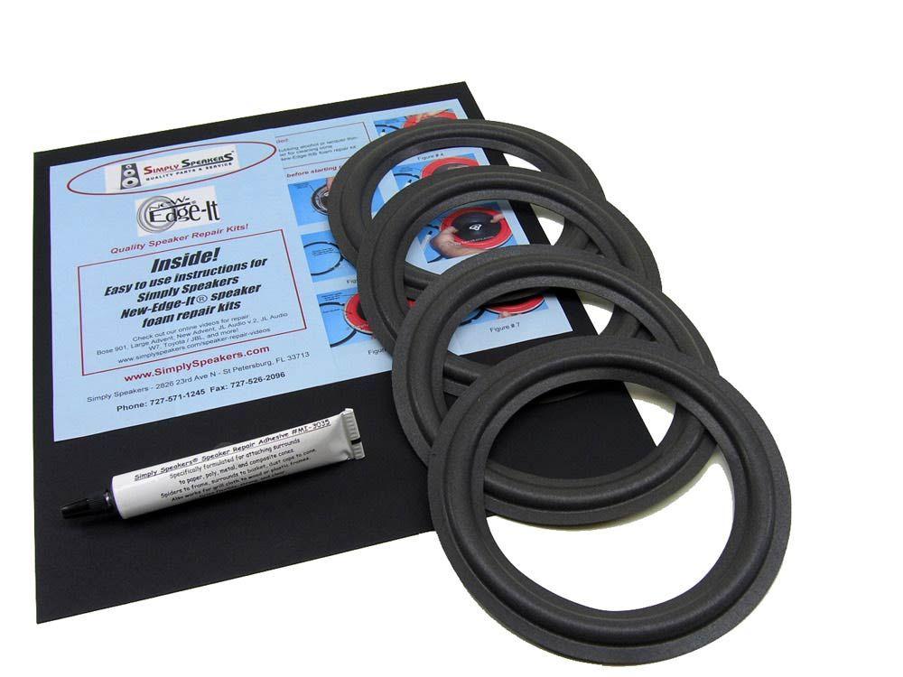 "Advent Laureate 6.5"" Foam Speaker Repair Kit FSK6.54 (4"