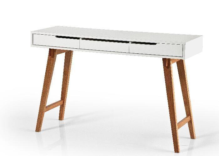 Schreibtisch anneke schreibtisch schmal pinterest for Schreibtisch schmal
