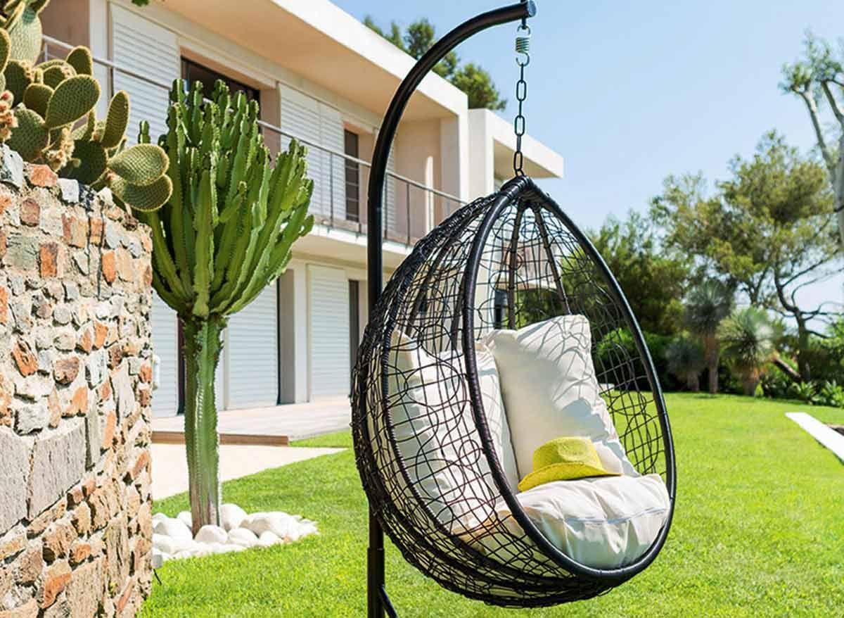 Mobiliario jardin 2016 sillon colgante dise o de for Mobiliario de jardin en sevilla