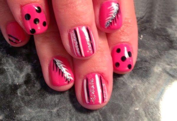 Cute Nail Art Styles For Women 2014 Unas Pinterest Art Styles