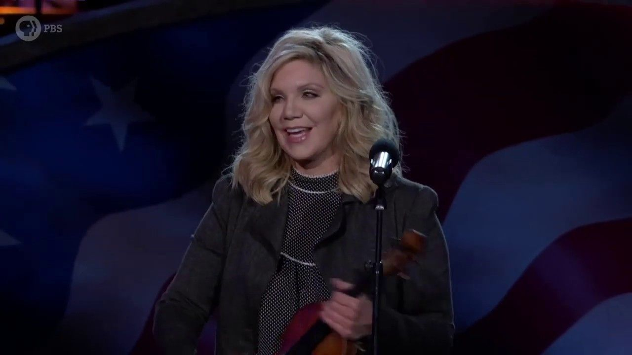 Alison krauss performing amazing grace on the 2019