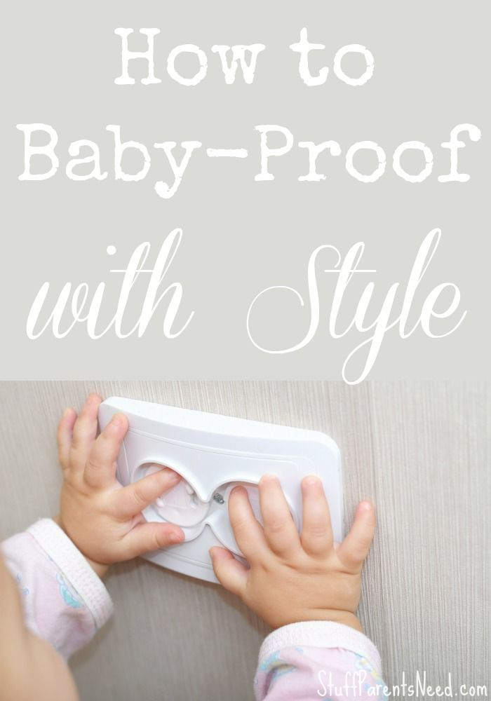 How To Baby Proof With Style Real Mommy Stuff Baby