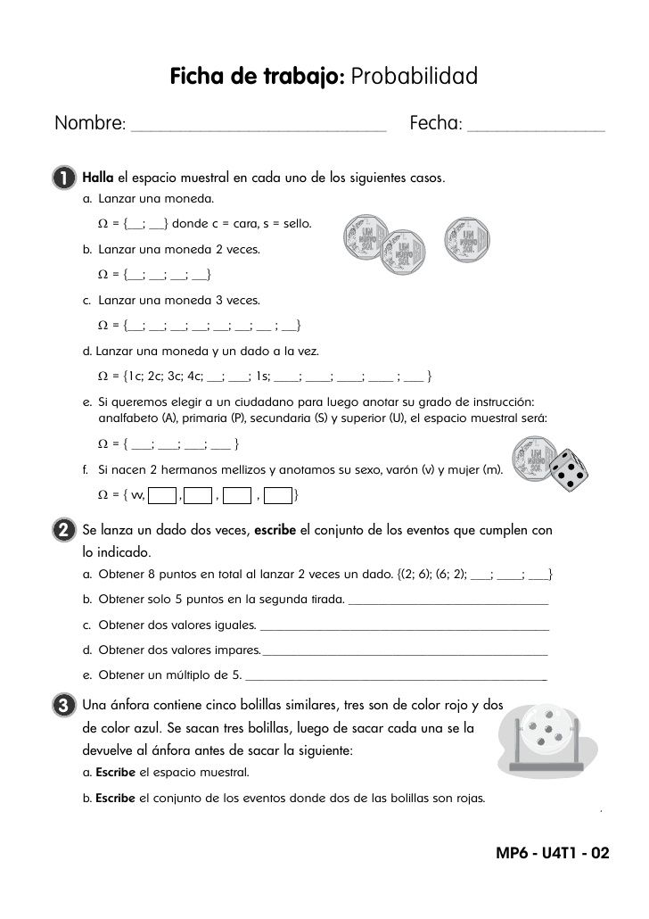 Capacidad: Interpretación y comunicación matemática Ficha de trabajo ...